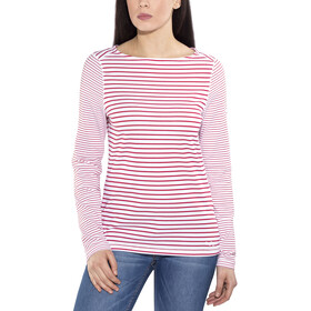 Craghoppers NosiLife Erin - T-shirt manches longues Femme - rouge/blanc
